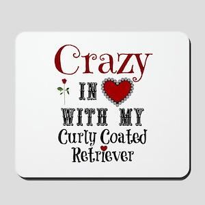 Curly Coated Retriever Mousepad