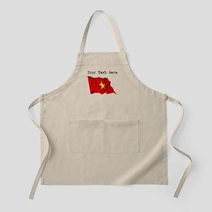 Vietnam Flag (Distressed) Apron