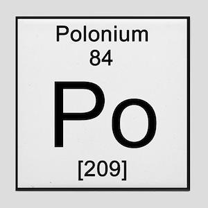 element polonium coasters cafepress
