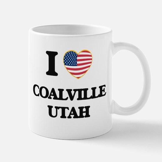 I love Coalville Utah Mugs