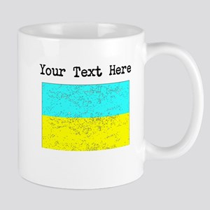 Ukraine Flag (Distressed) Mugs