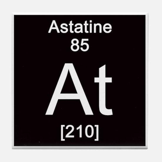 85. Astatine Tile Coaster