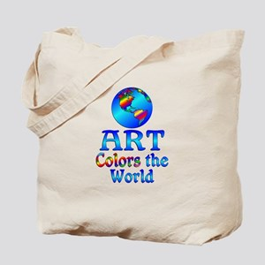 Art Colors the World Tote Bag