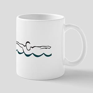Butterfly Swimmer Mugs