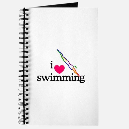 I Love Swimming/Diver Journal