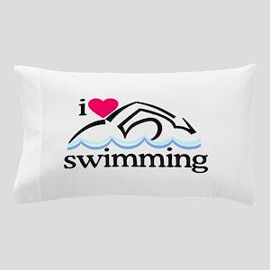 I Love Swimming/Swimmer Pillow Case