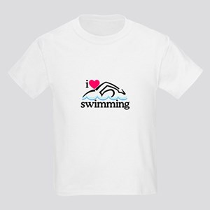 I Love Swimming/Swimmer T-Shirt