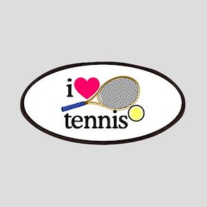 I Love Tennis/Racquet Patch