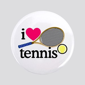I Love Tennis/Racquet Button