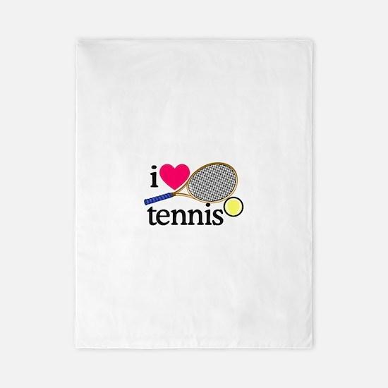 I Love Tennis/Racquet Twin Duvet