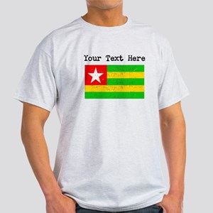 Togo Flag (Distressed) T-Shirt