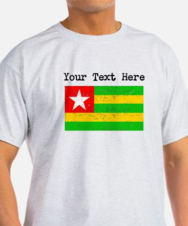 Togo Flag (Distressed) T-Shirt