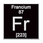 87. Francium Tile Coaster
