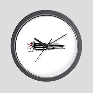 Scratch Claws Wall Clock