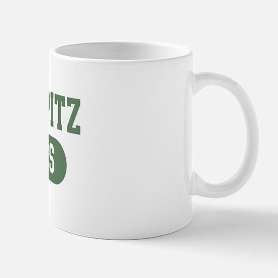 Finnish Spitz athletics Mug