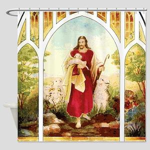 Good Shepherd Shower Curtain