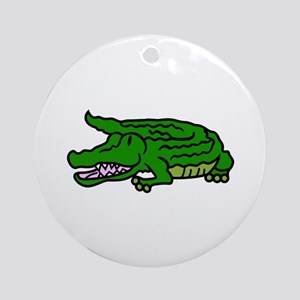 Gator Ornament (Round)