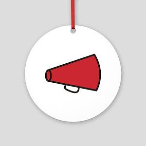 Megaphone Ornament (Round)
