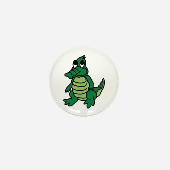 Baby Gator Mini Button