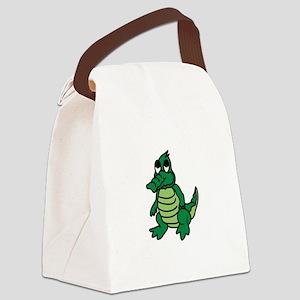 Baby Gator Canvas Lunch Bag