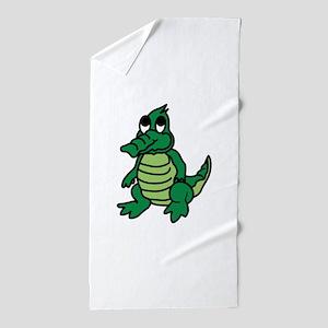 Baby Gator Beach Towel