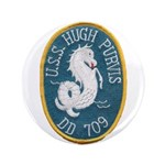 USS HUGH PURVIS Button