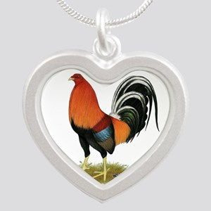 Gamecock Wheaten Rooster Necklaces