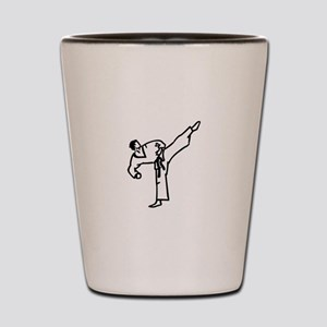 Karate Kick Shot Glass