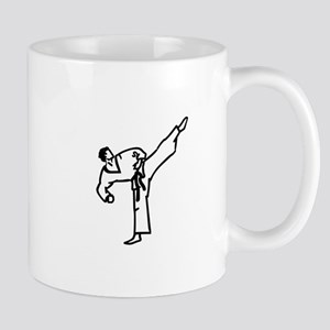 Karate Kick Mugs