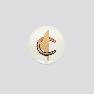 Horseshoes Mini Button