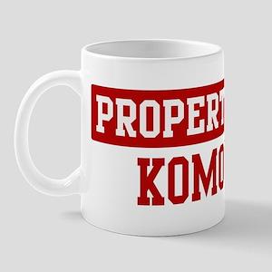 Property of Komondor Mug