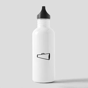Megaphone Outline Water Bottle