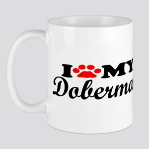 Doberman - I Love My Mug