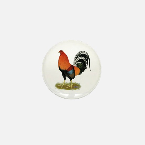 Gamecock Wheaten Rooster Mini Button