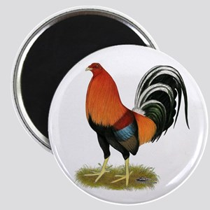 Gamecock Wheaten Rooster Magnets