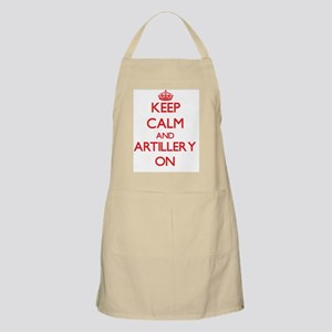 Keep Calm and Artillery ON Apron