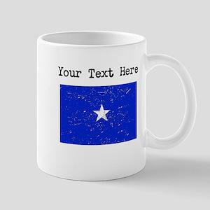 Somalia Flag (Distressed) Mugs