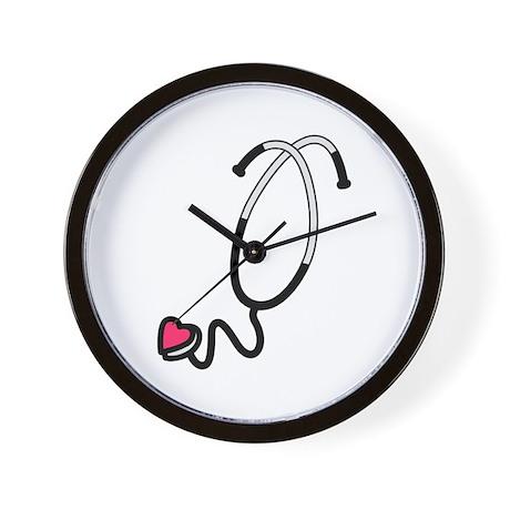 heart stethoscope wall clock by grandslamdesigns04