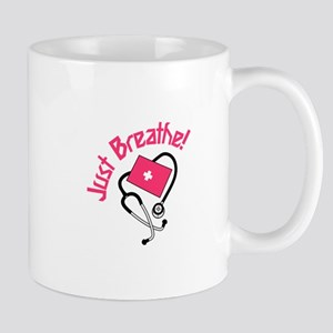 Just Breathe! Mugs