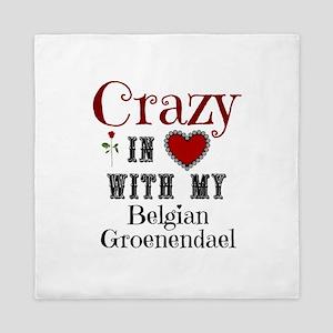 Belgian Groenendael Queen Duvet