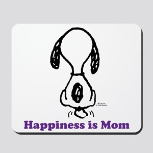 Happiness Is Mom Tailwag Mousepad
