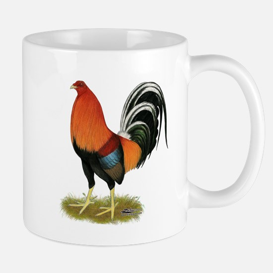 Gamecock Wheaten Rooster Mugs