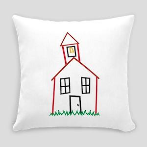 Schoolhouse Everyday Pillow
