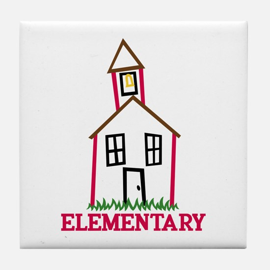 Elementary Tile Coaster