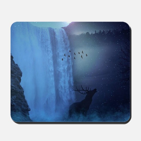 Wildlife and Waterfalls Mousepad