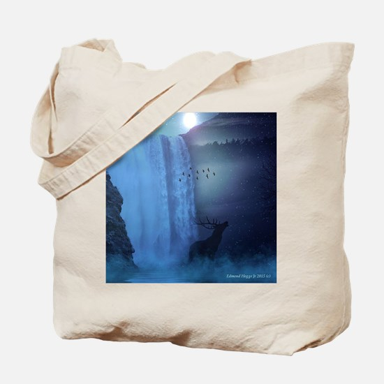 Wildlife and Waterfalls Tote Bag