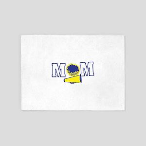 Cheerleading Mom 5'x7'Area Rug