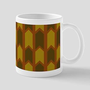 Dark Golden Rivets Mugs