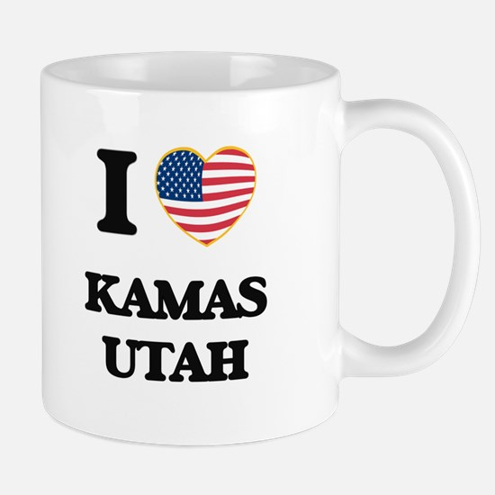 I love Kamas Utah Mugs