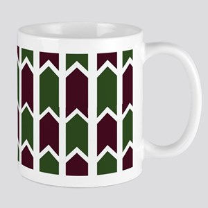 Evergreen and Brown Rivets Mugs